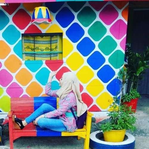 Кампунг Пеланги: невероятно красочная деревня в Индонезии (15 фото)