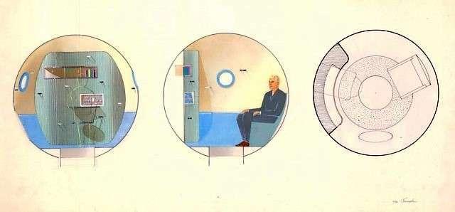 Космический дизайн. Галина Балашова проектировала интерьер -Союза- и -Мира- (15 фото)