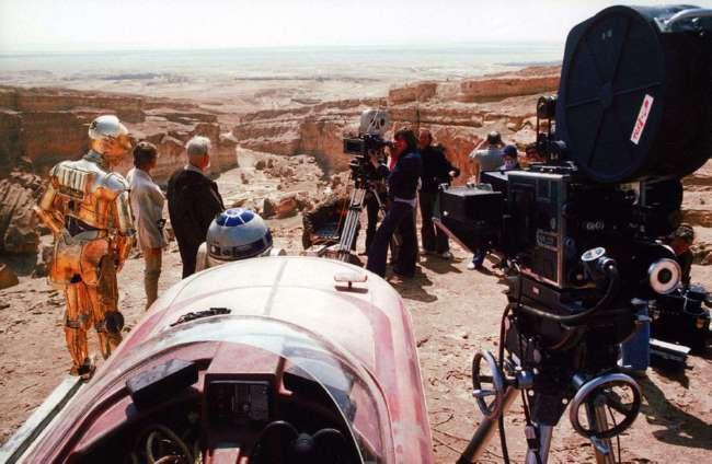 25 потрясающих фотографий со съемок первых «Звездных войн» (25 фото)