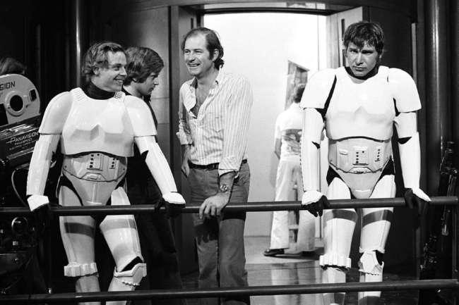 25 потрясающих фотографий со съемок первых -Звездных войн- (25 фото)