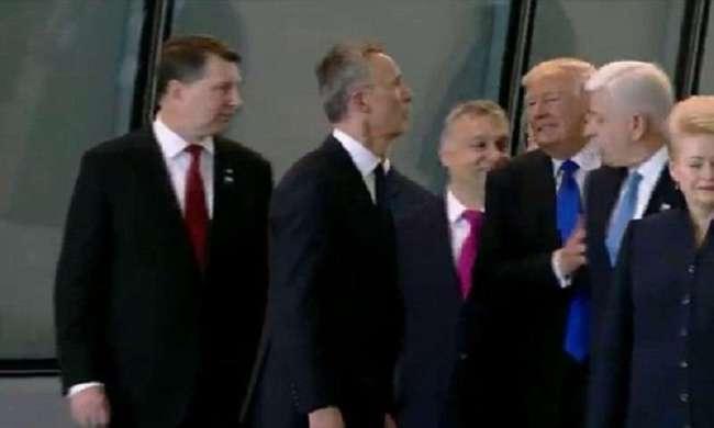 Извини-подвинься: как Трамп столкнул президента Черногории с политического Олимпа (13 фото + 1 видео)