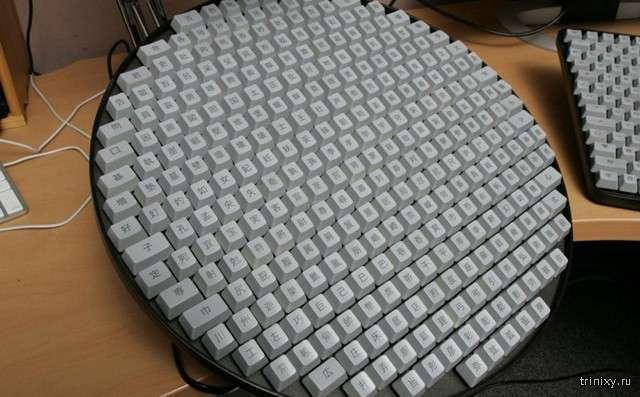 Мучения китайских операторов ПК или как выглядит настоящая клавиатура из КНР (3 фото)