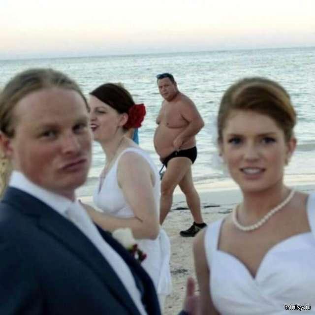 Забавные свадебные фотографии (17 фото)