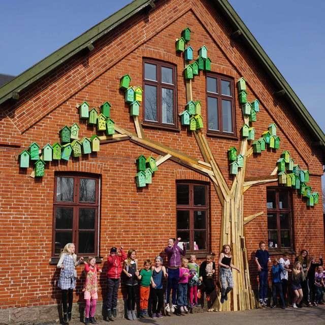 Лесные гиганты в Дании (51 фото)