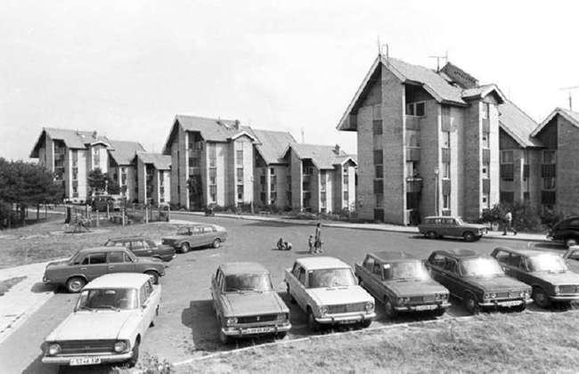Города и жители Литвы во времена СССР (28 фото)