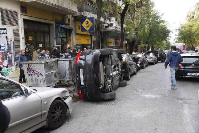 Что бывает за хамскую парковку (32 фото)