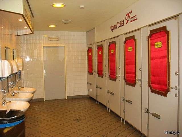Рамки приличия: 7 негласных правил этикета в общественном туалете (7 фото)