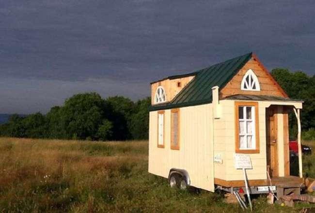 Российские первопроходцы в области крошечных мобильных домиков tiny house (11 фото)