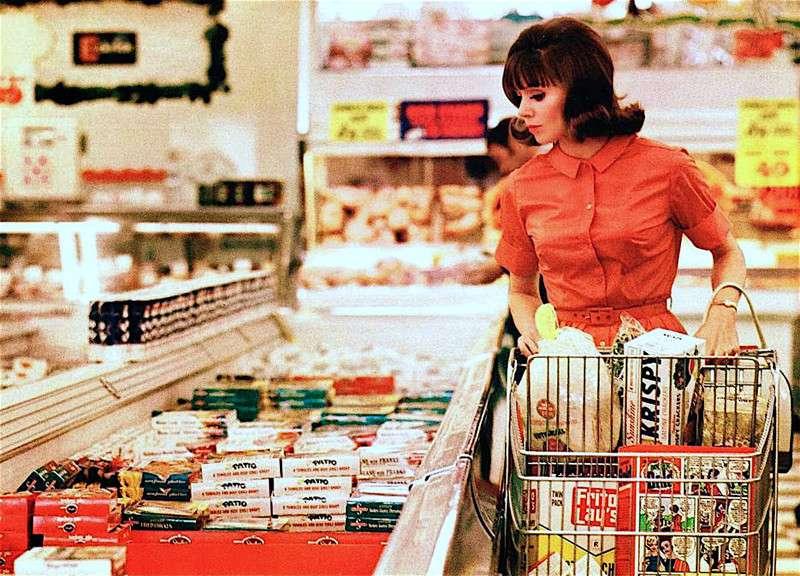 Машина Времени. Супермаркет в Мемфисе, 1964 (11 фото)