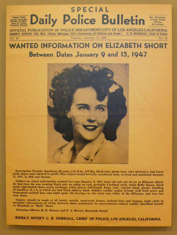 Убийство Элизабет Шорт — дело «Черного георгина» (19 фото)
