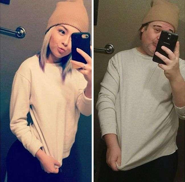 Отец троллит дочь в социальных сетях (16 фото)