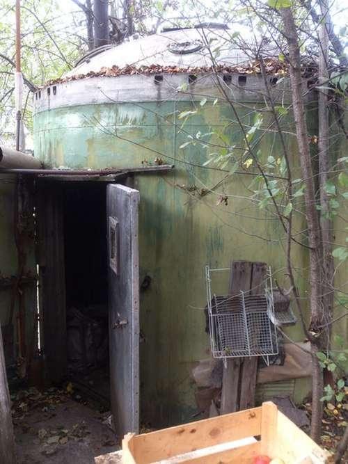 Смекалка и находчивость в постройке бани (3 фото)