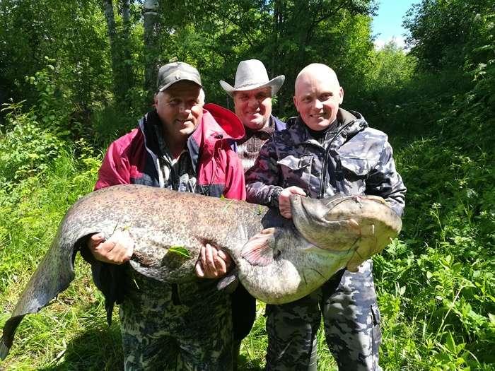 Рыбаки выловили 312