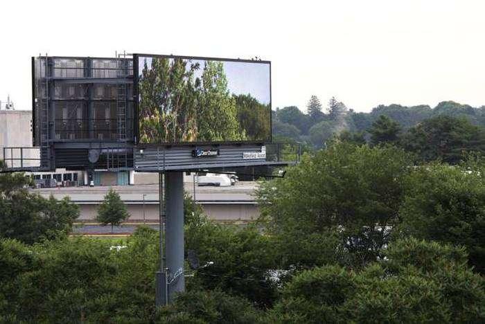 Вдохновляющие уличные рекламные баннеры (6 фото)