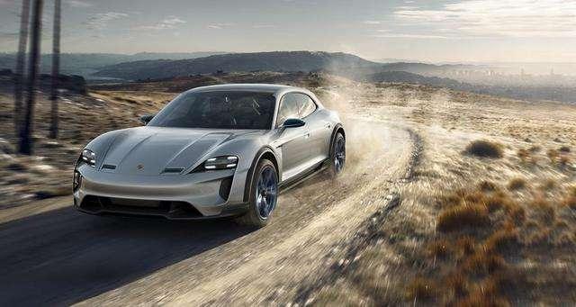 У Tesla Model X появится конкурент от Porsche (2 фото)