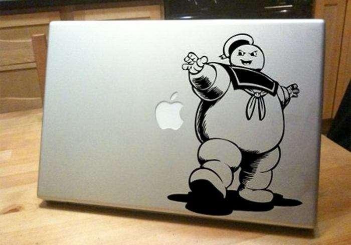 Прикольные наклейки для MacBook (15 фото)