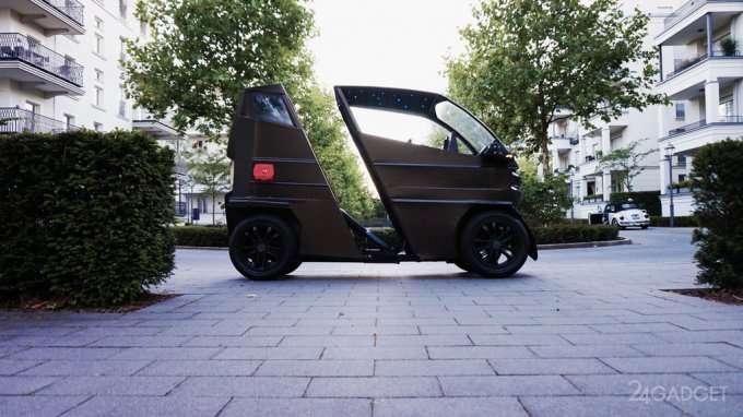 Новый электромобиль-трансформер iEV X умеет растягиваться (7 фото)
