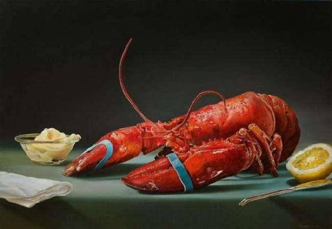 Гиперреалистичные рисунки еды (14 фото)