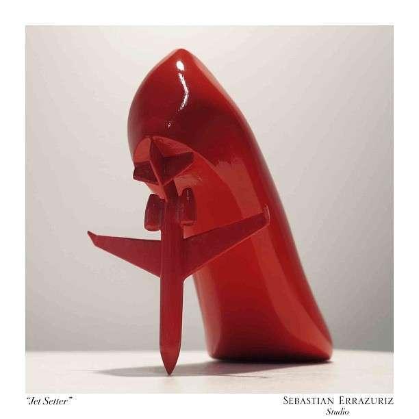 Коллекция обуви от художника Sebastian Errazuriz (23 фото)