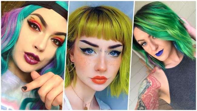 Давайте жить ярко: 25 прекрасных девушек с цветастыми волосами