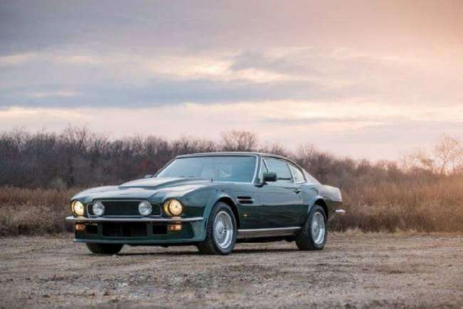 Aston Martin V8 Vantage X-Pack — маслкар по английскому рецепту (16 ф