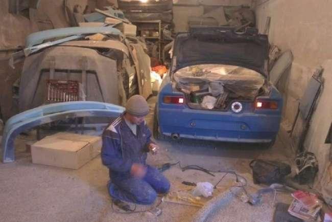 Необычная идея — собрать для себя Москвич 2140 на базе BMW 3