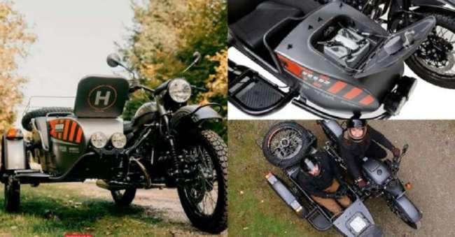 Ural Air: уникальная серия мотоциклов с беспилотниками