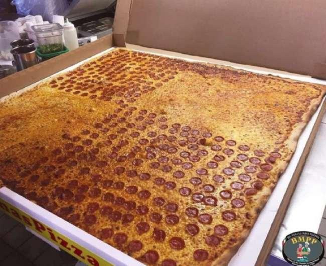 Книга рекордов Гиннеса: самая большая пицца в мире