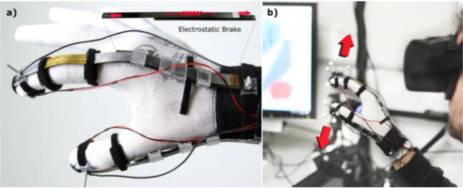 Разработана перчатка, позволяющая ощущать виртуальную реальность