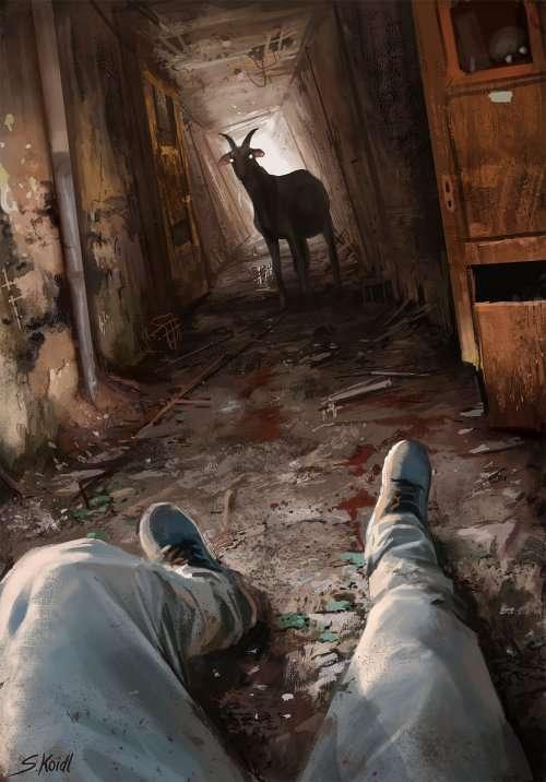 Зловещие иллюстрации Стефана Койдля, которые на ночь лучше не смотреть (20 фото)