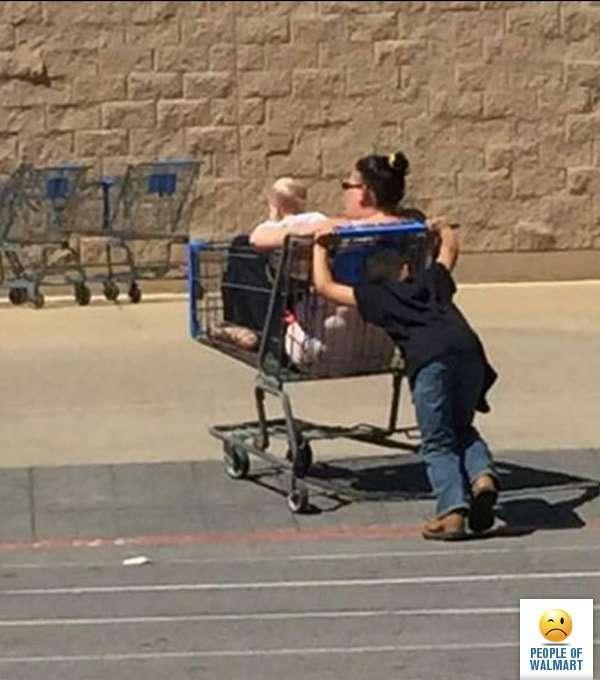 Люди в американских супермаркетах (37 фото)
