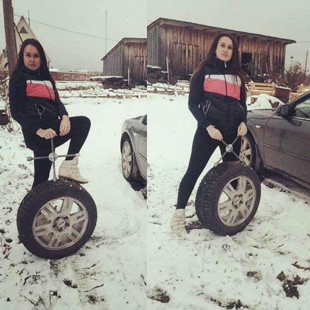 Суровые будни женщин в России. ФОТО