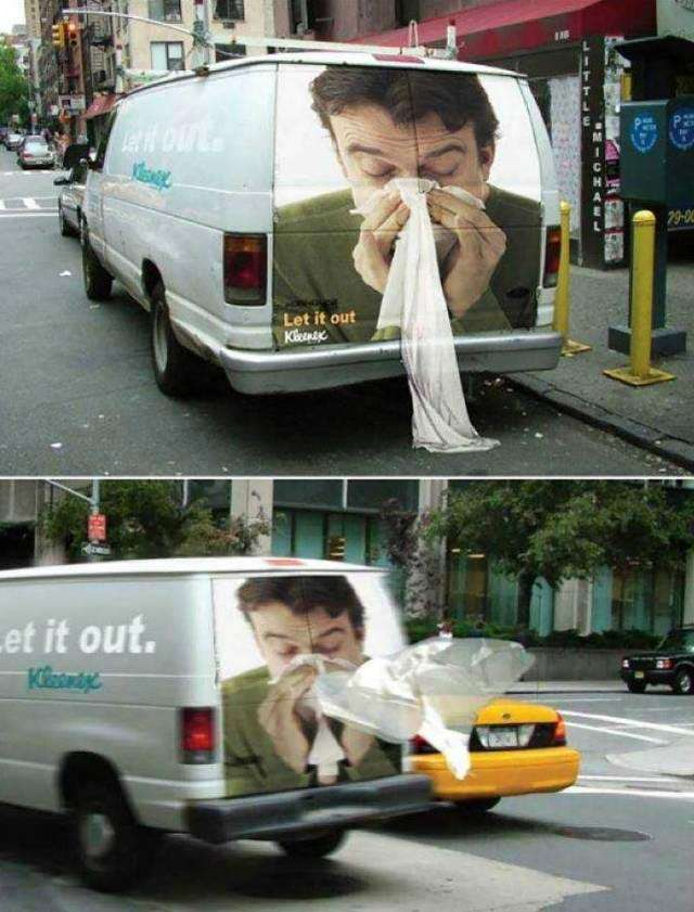 Правильная наружная реклама с правильным посылом