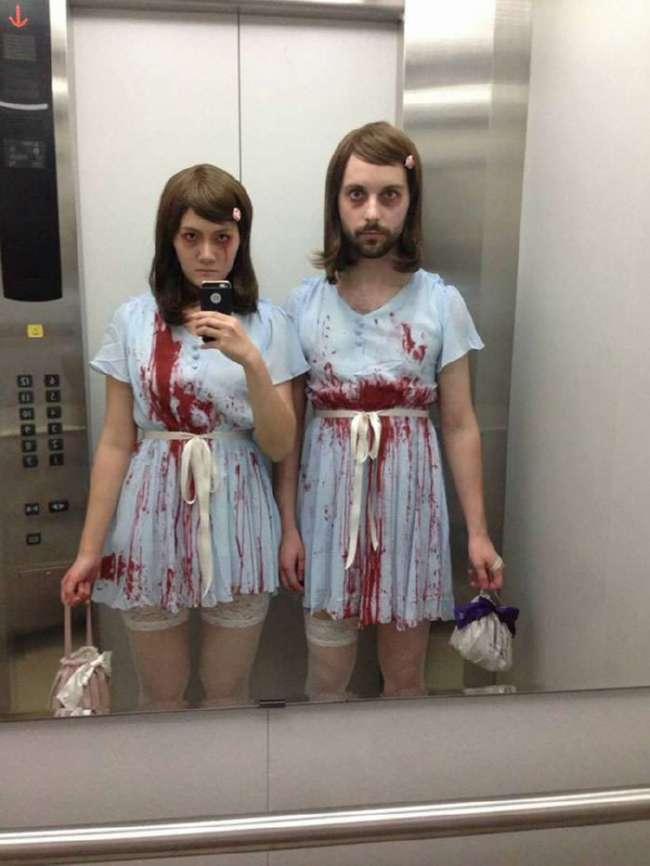 Костюмы на Хеллоуин для друзей и влюбленных парочек