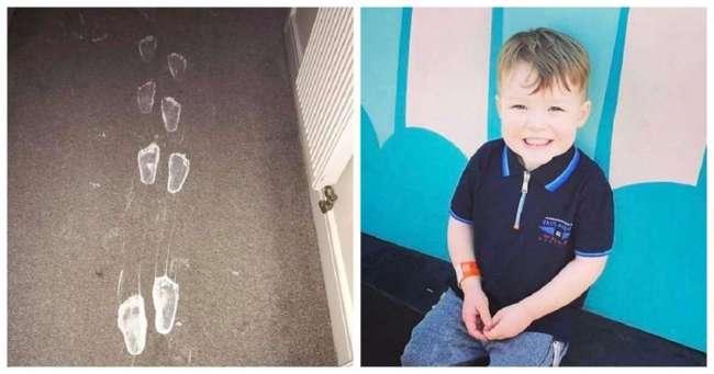 Оставь трехлетнему сорванцу банку краски и беды не миновать