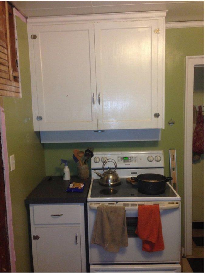 Во время ремонта на кухне обнаружилась настоящая жуть