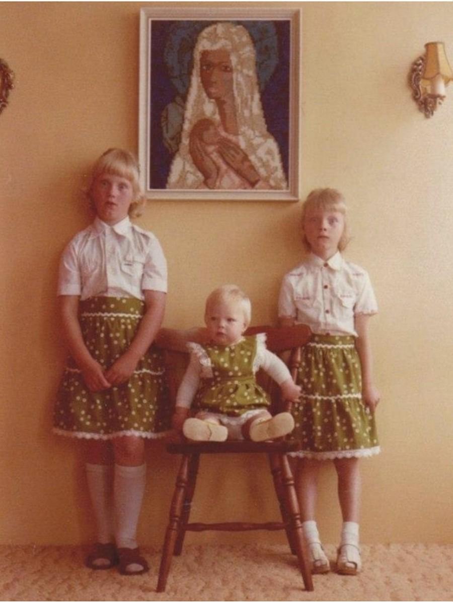 Шикарные семейные снимки из старых альбомов