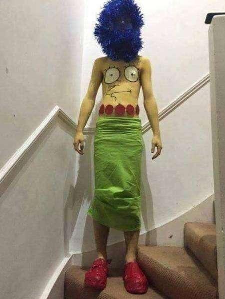 Дёшево и сердито: 22 глупых, но дешёвых костюма на Хэллоуин