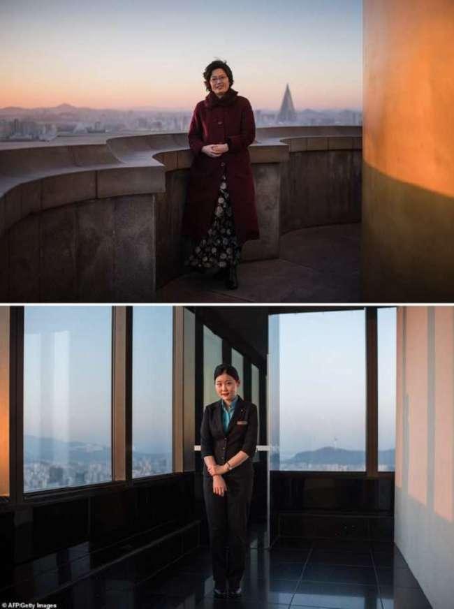 Фотограф показал сходство и различия Северной и Южной Кореи в серии снимков объектов одного назначения