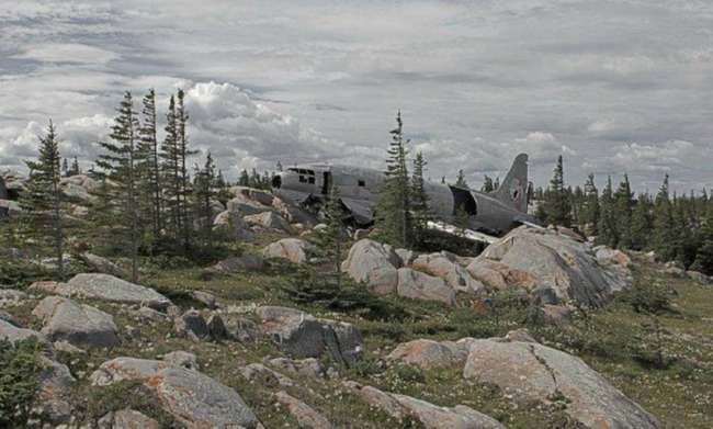 Хэппи-энд или удачные крушения самолетов (11 фото)