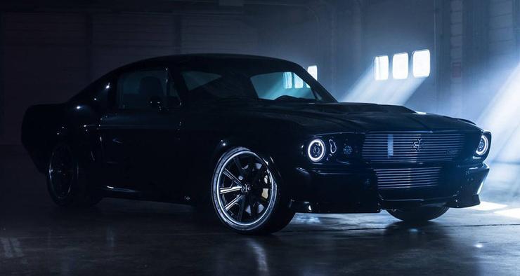 Электрический Ford Mustang запустят в серию (фото + видео)