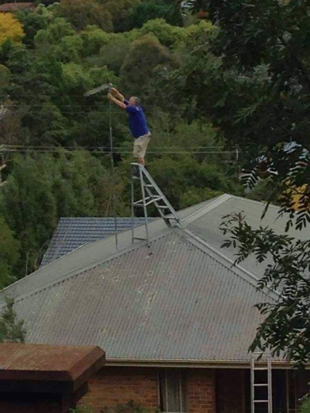 Когда не подозреваешь о существовании техники безопасности