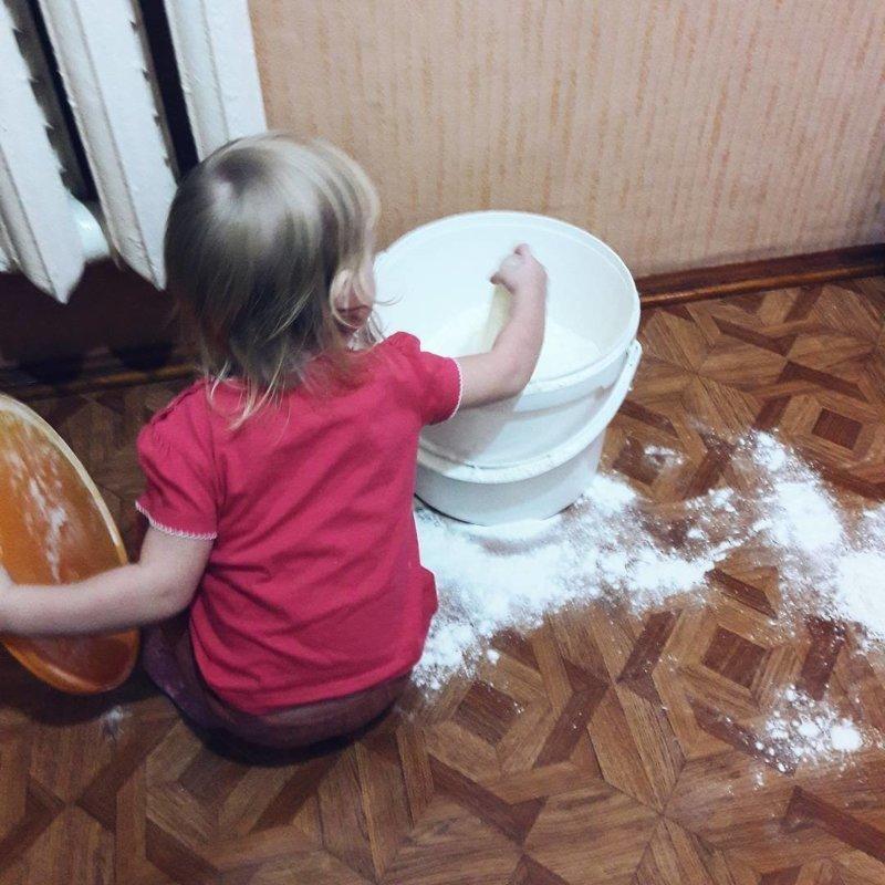 Дети, оставленные без присмотра, делают все в 10 раз быстрее