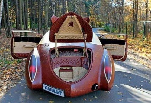 Эксклюзивный автомобиль российского олигарха выставили на продажу (10 фото)