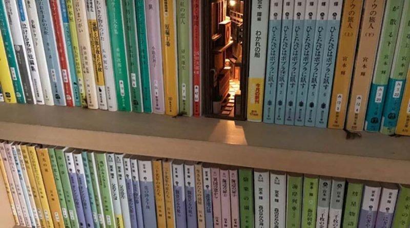 Японский художник создаёт книги, которые, чтобы оценить, необходимо рассмотреть поближе