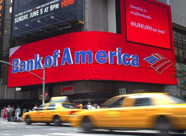 Банкоматы Bank of America выдавал купюры в 100 $ вместо 20