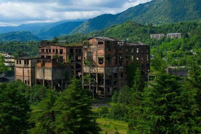 Абхазский город-призрак