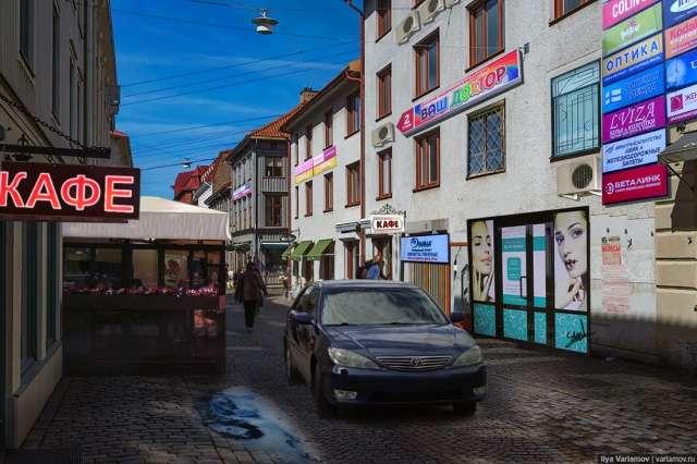 Русифицированные европейские города: почувствуй разницу