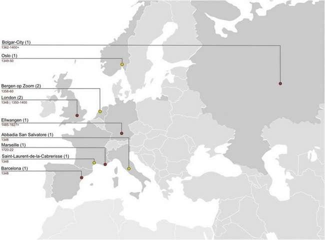 Европейская средневековая чума имела уральские корни (2 фото)