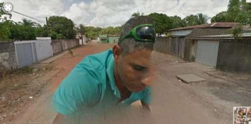 Всё самое странное и прикольное с Google Street View (19 фото)